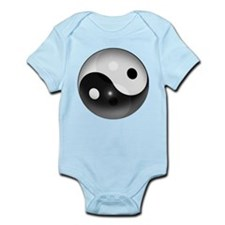 Yin Yang in 3D Body Suit
