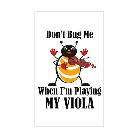 Viola Bug Rectangle Sticker