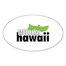 MOLOKAI Hawaii Decal