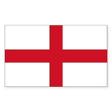 England Flag Decal
