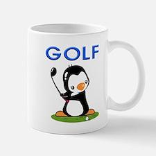 Golf Penguin Mug