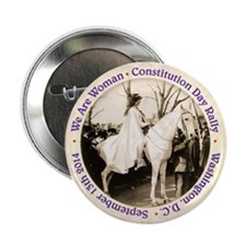 "Inez Milholland Commemorative 2.25"" Button"