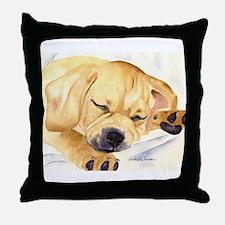 Puggle Stuff! Throw Pillow