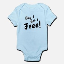 Twins B1G1 Free Funny Baby Bodysuit