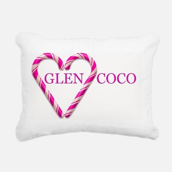 GLENCOCO Rectangular Canvas Pillow