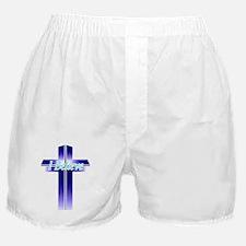 I Believe Cross Boxer Shorts