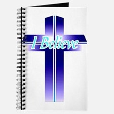 I Believe Cross Journal