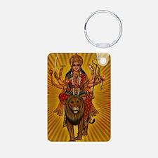 HINDU GODDESS DURGA Keychains
