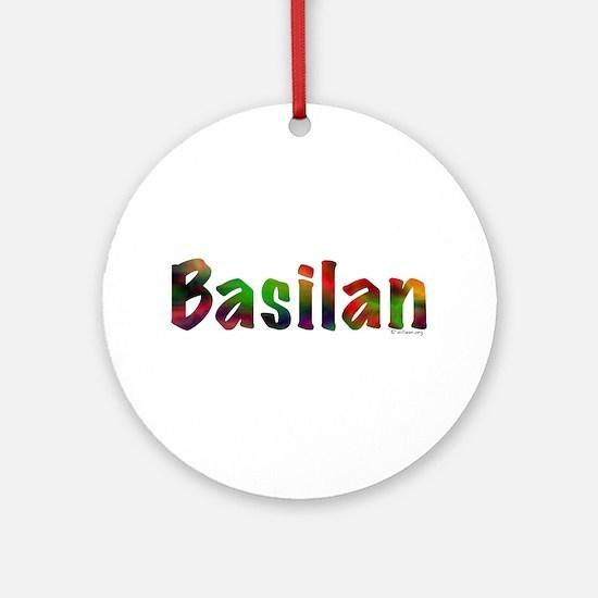 Basilan Ornament (Round)