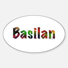 Basilan Oval Decal