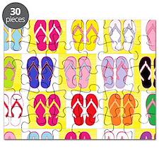 Flip-Flop Collage Puzzle