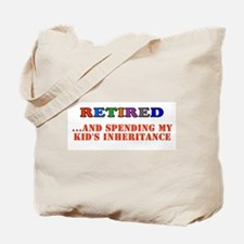 Cool Retirement party Tote Bag