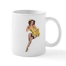 Yellow Lady Mug