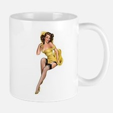 Yellow Lady Mug