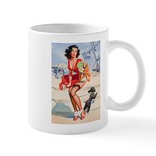 Pin up Grocery Girl Mug