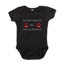 You Can't Buy Love Baby Bodysuit