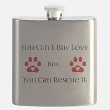You Can't Buy Love Flask