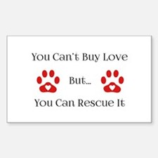 You Can't Buy Love Decal
