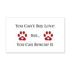 You Can't Buy Love Wall Decal