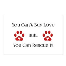 You Can't Buy Love Postcards (Package of 8)