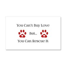 You Can't Buy Love Car Magnet 20 x 12