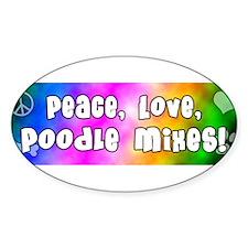 hippie_poodlemix Decal