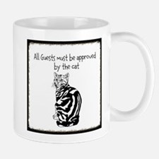 All Guests must be approved by the Cat Mugs