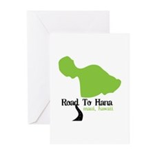 Road To Hana Maui,Hawaii Greeting Cards