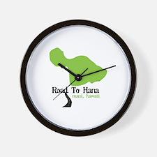 Road To Hana Maui,Hawaii Wall Clock