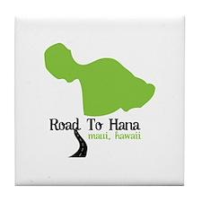 Road To Hana Maui,Hawaii Tile Coaster