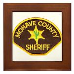 Mohave County Sheriff Framed Tile