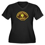 Mohave County Sheriff Women's Plus Size V-Neck Dar