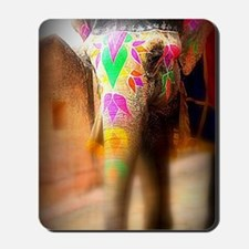 The Indian Elephant By MK Mousepad