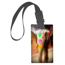 The Indian Elephant By MK Luggage Tag