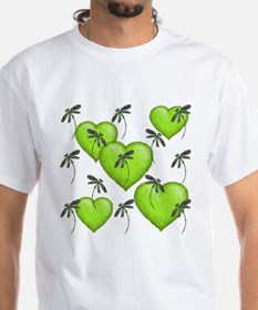 Love Hearts and Dragonflies Luscious Shirt