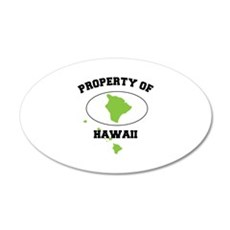 PROPERTY OF HAWAII Wall Decal