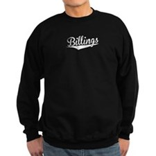 Billings, Retro, Sweatshirt