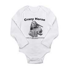 Crazy Horse: My Lands Long Sleeve Infant Bodysuit