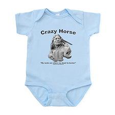 Crazy Horse: My Lands Infant Bodysuit