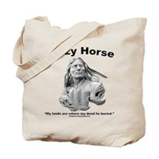 Crazy Horse: My Lands Tote Bag