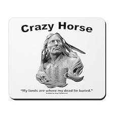 Crazy Horse: My Lands Mousepad