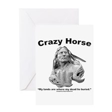 Crazy Horse: My Lands Greeting Card