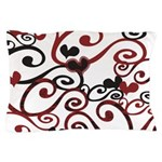 Graphic Hearts Pillow Case