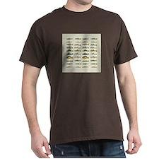 Freshwater Fish Chart T-Shirt