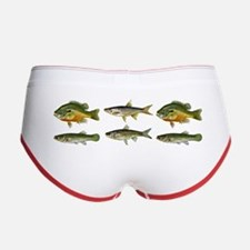 Freshwater Fish Chart Women's Boy Brief