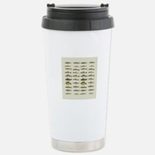 Freshwater Fish Chart Stainless Steel Travel Mug