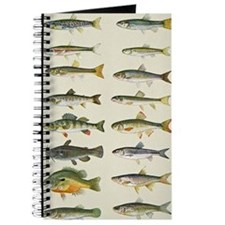 Freshwater Fish Chart Journal