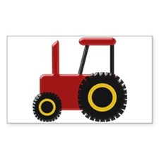 Red Tractor Decal