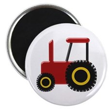 Red Tractor Magnets
