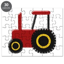 Red Tractor Puzzle